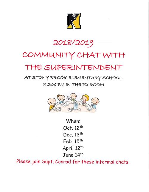 Community Chat with Superintendent