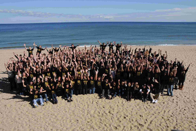 Seniors at Nauset Beach